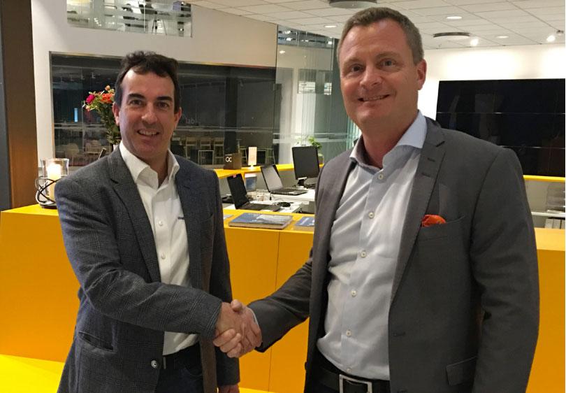 Fv. Oscar Civill försäljningschef Weblink IP Phone AB, Thomas Jakobsson VD, Office