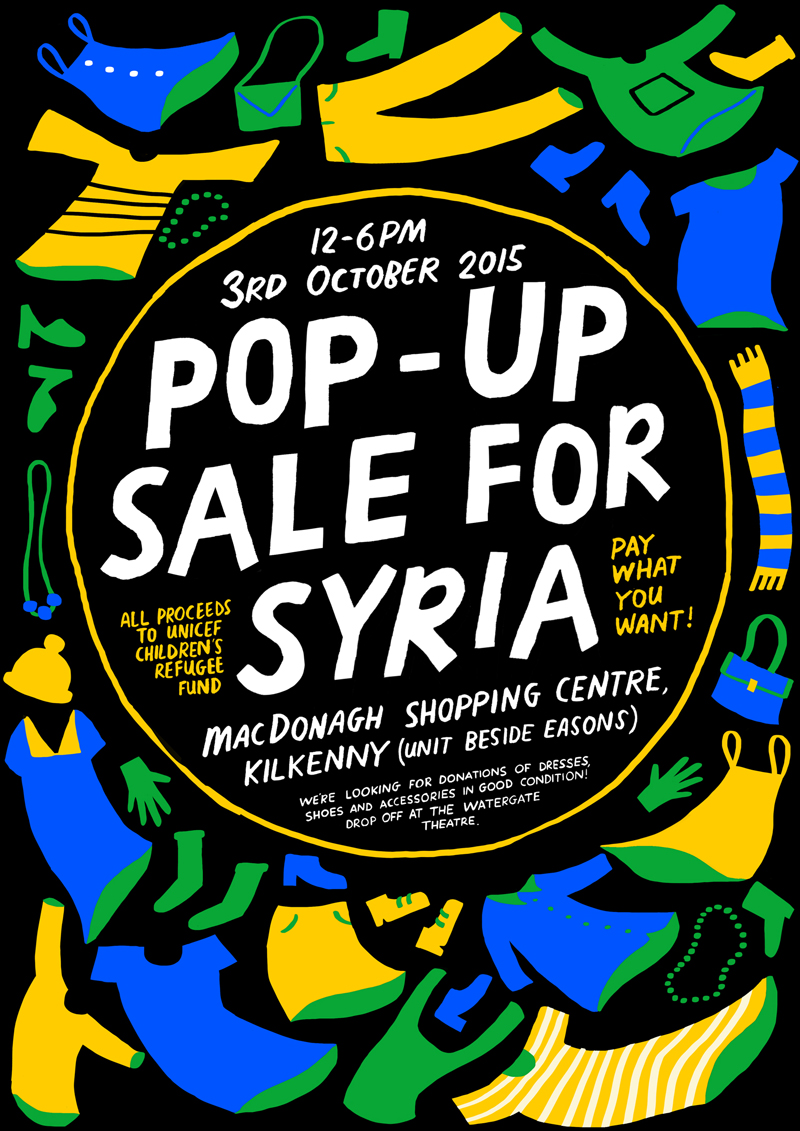 Pop Up Sale For Syrian