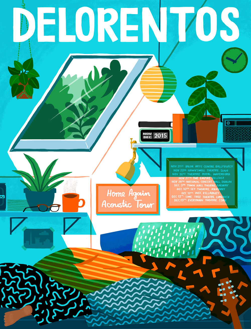 Delorentos Tour Poster
