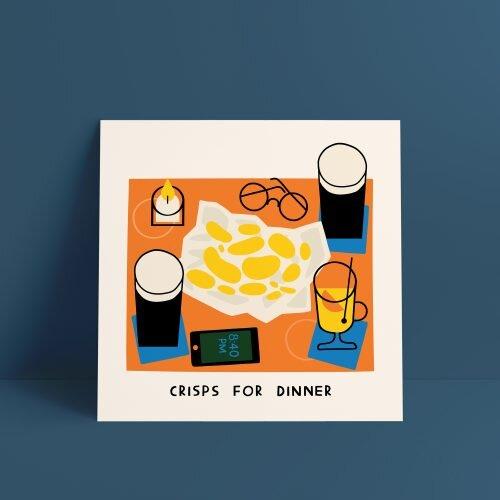 Crisps For Dinner • €25