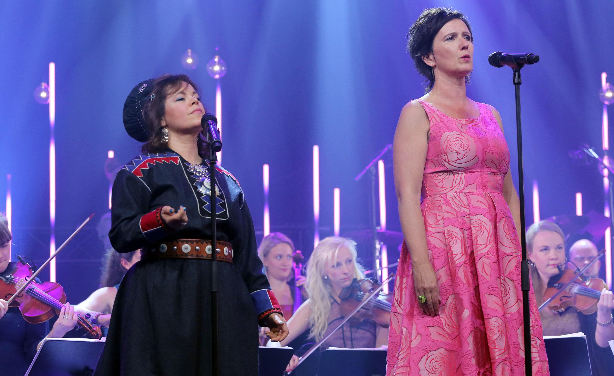 Ulla Pirttijärvi-Länsman and Berit Opheim