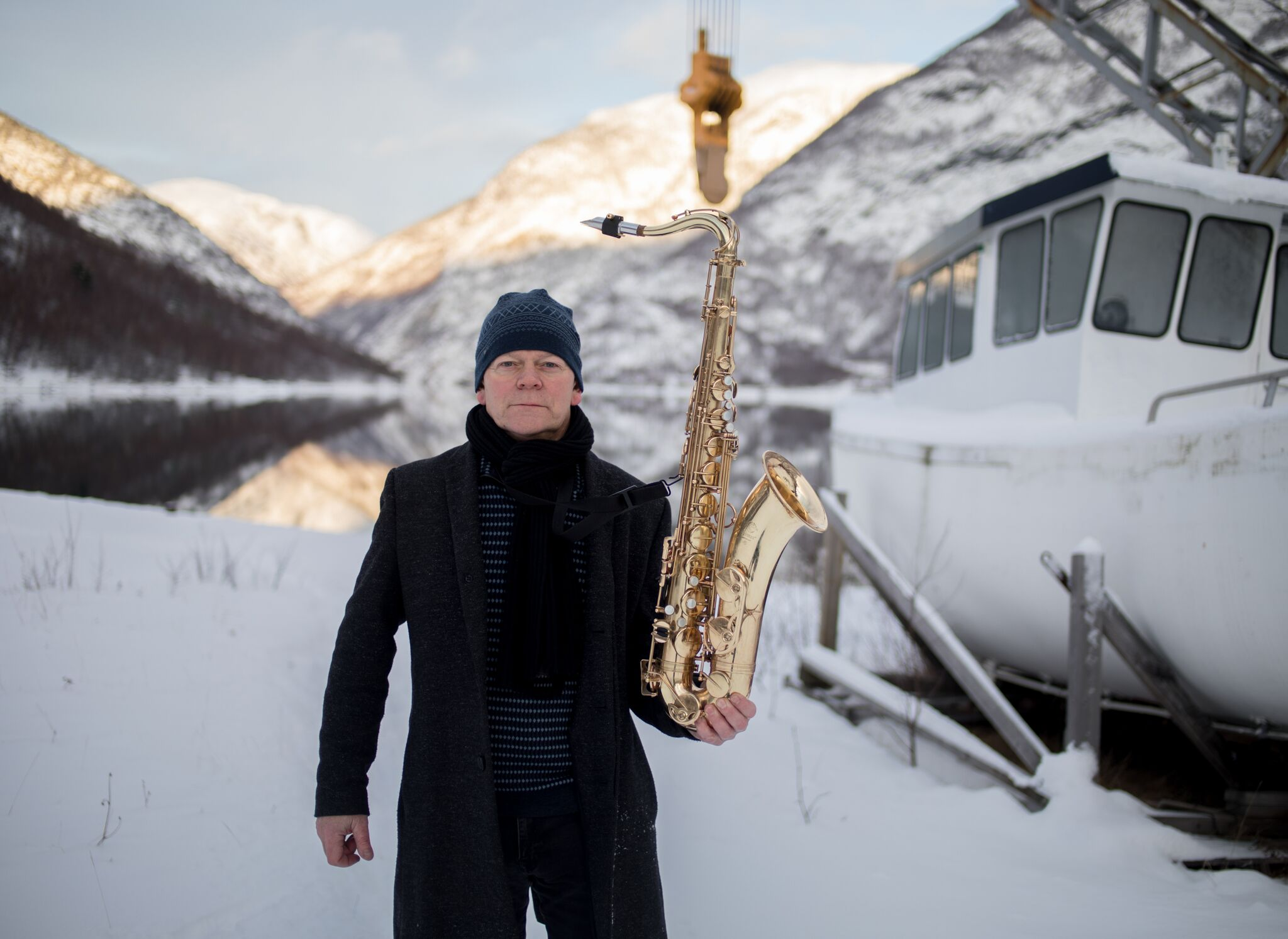 The composer, saxophone and goathorn player, Karl Seglem, is the first Norwegian act at the festival, playing with his acclaimed band on Wednesday 3rd. Photo: Oddleiv Apneseth