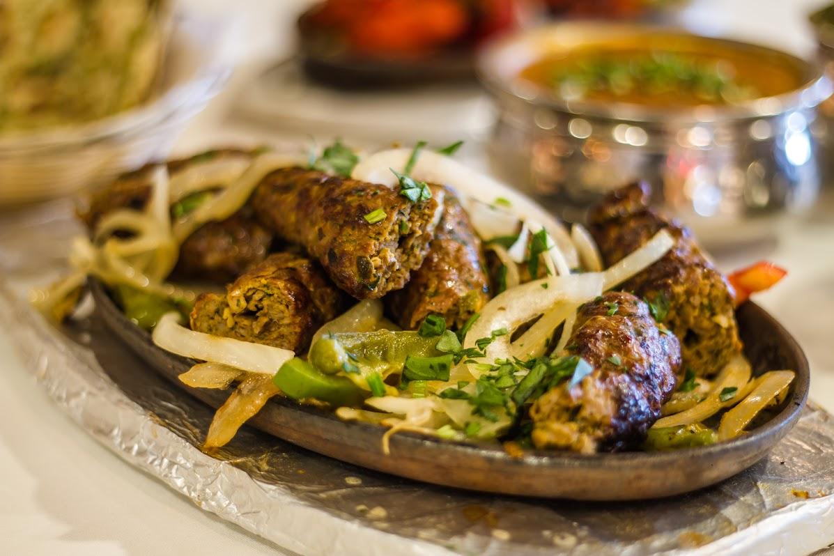 Lamb Boti Kabob