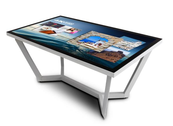Touchscreen tables can help encourage participation, and can improve engagement in meetings