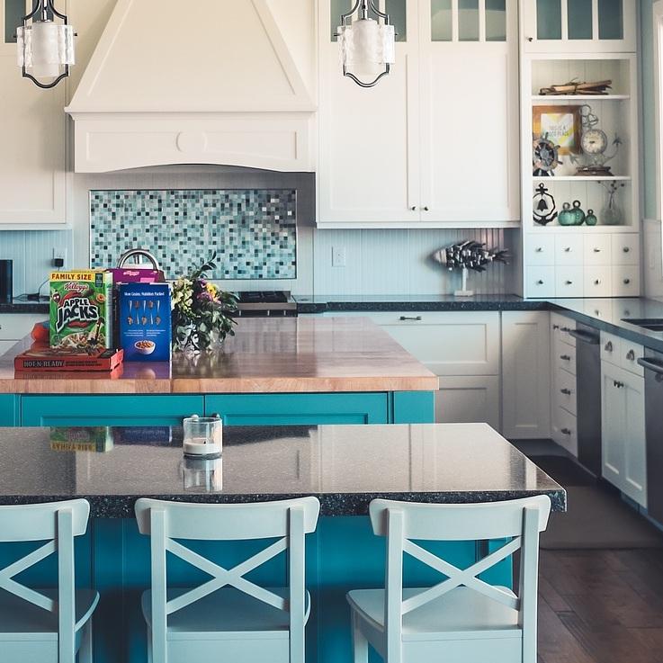 - in-home kitchen re-organization