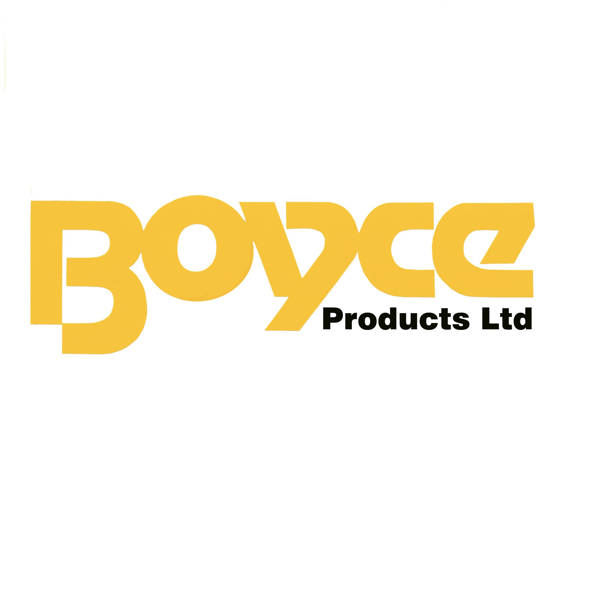 BOYCE PRODUCTS LTD