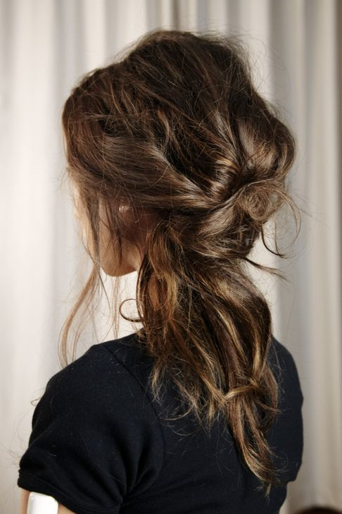 coiffure  mariage semi-attaché flou bohème