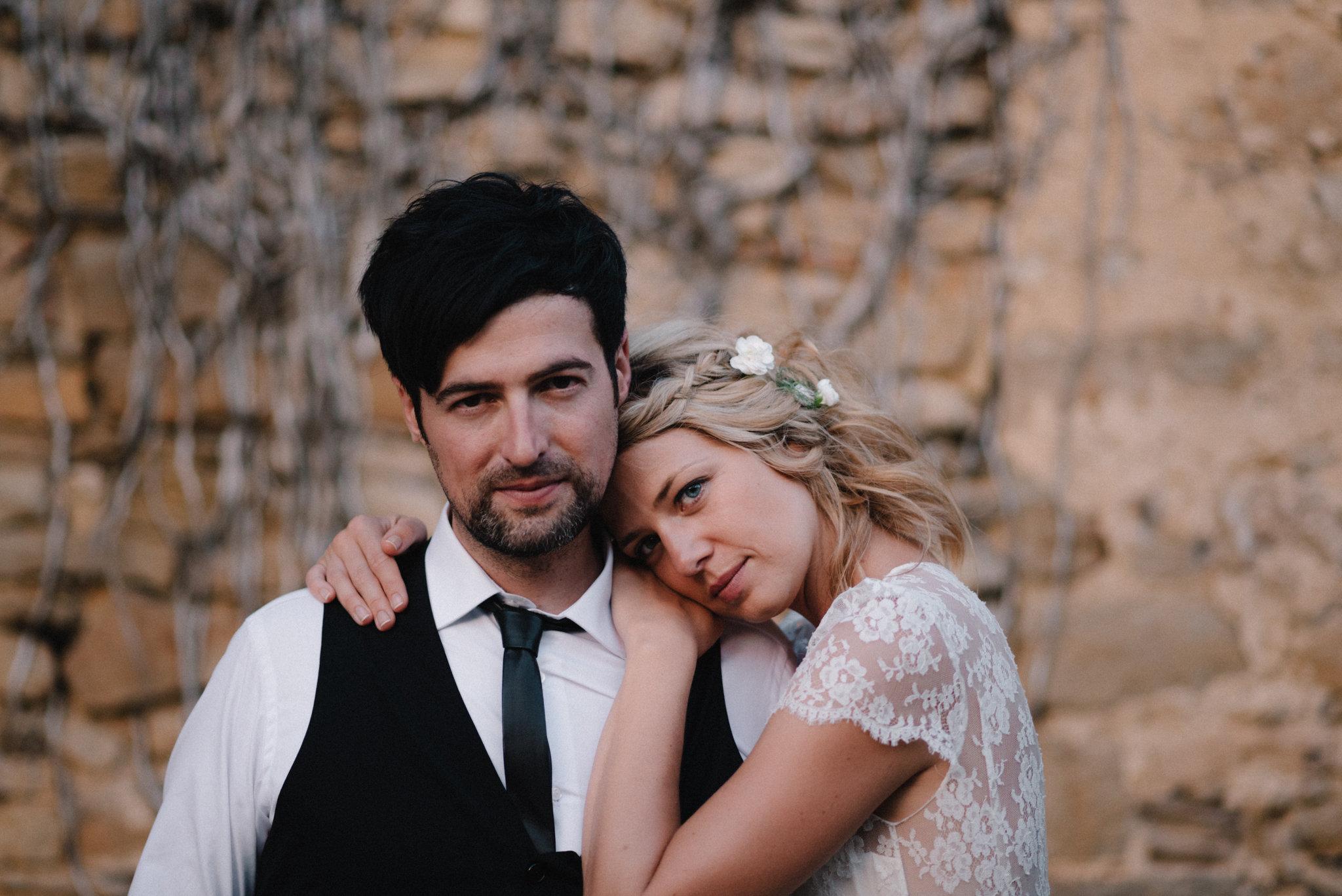 Coiffure bohème mariage katia et antoine