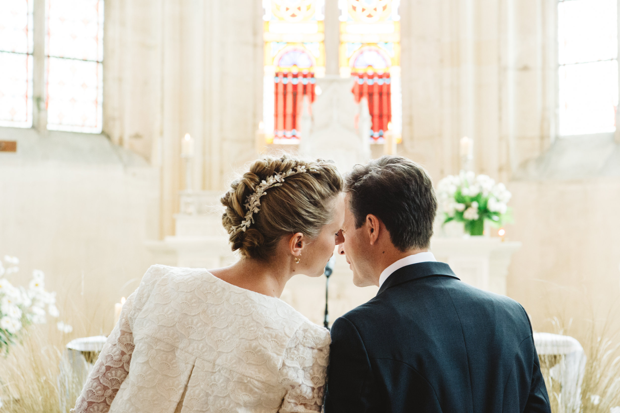 Coiffure mariage Tatiana et Edouard