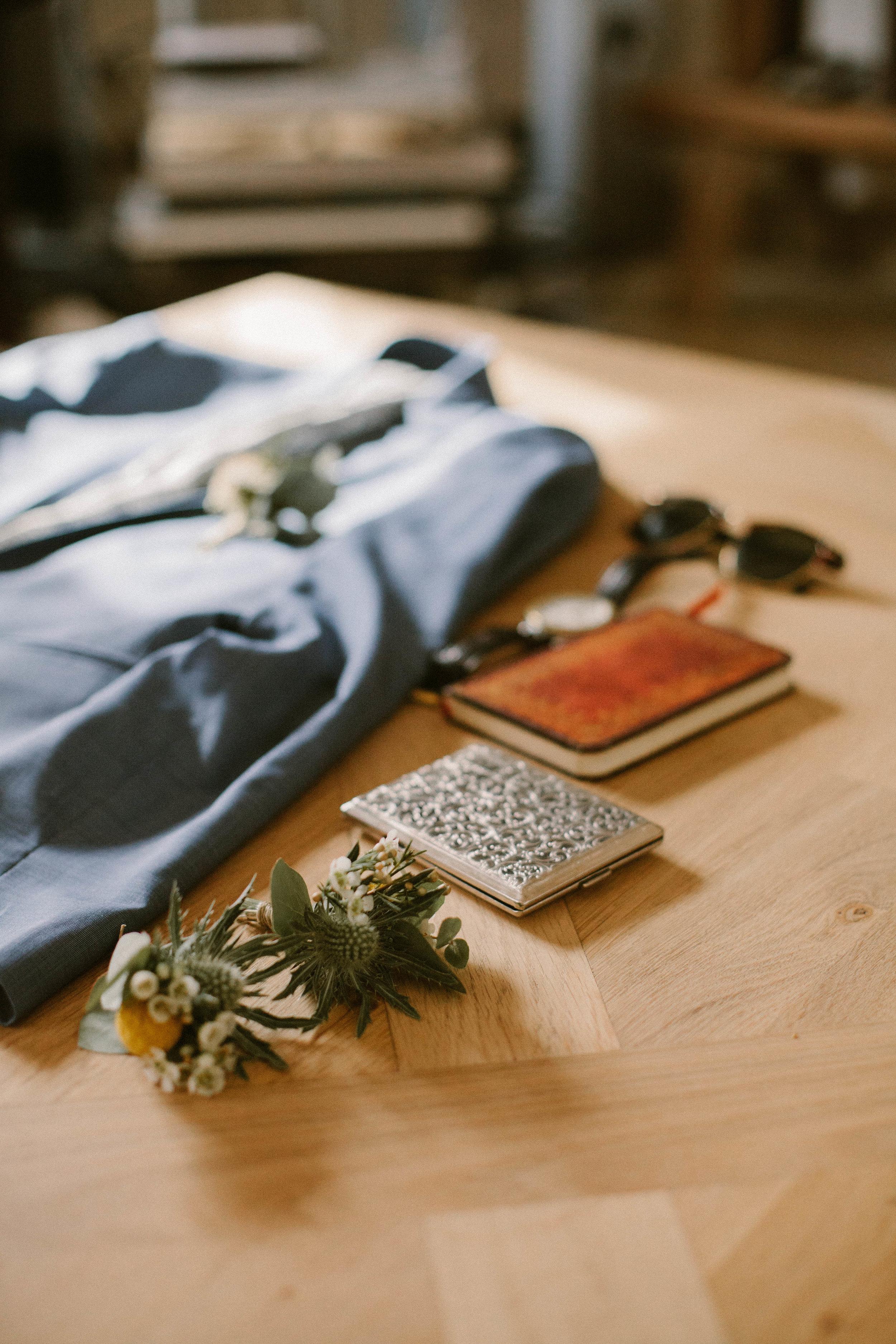 Boutonnières mariées