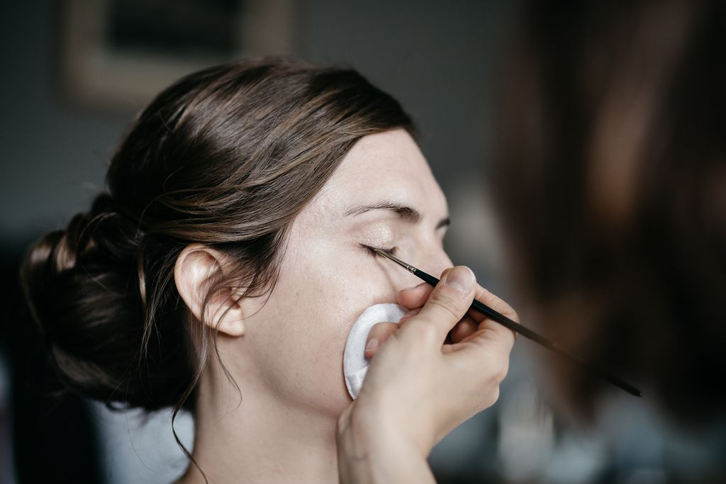 Maquillage mariage nude