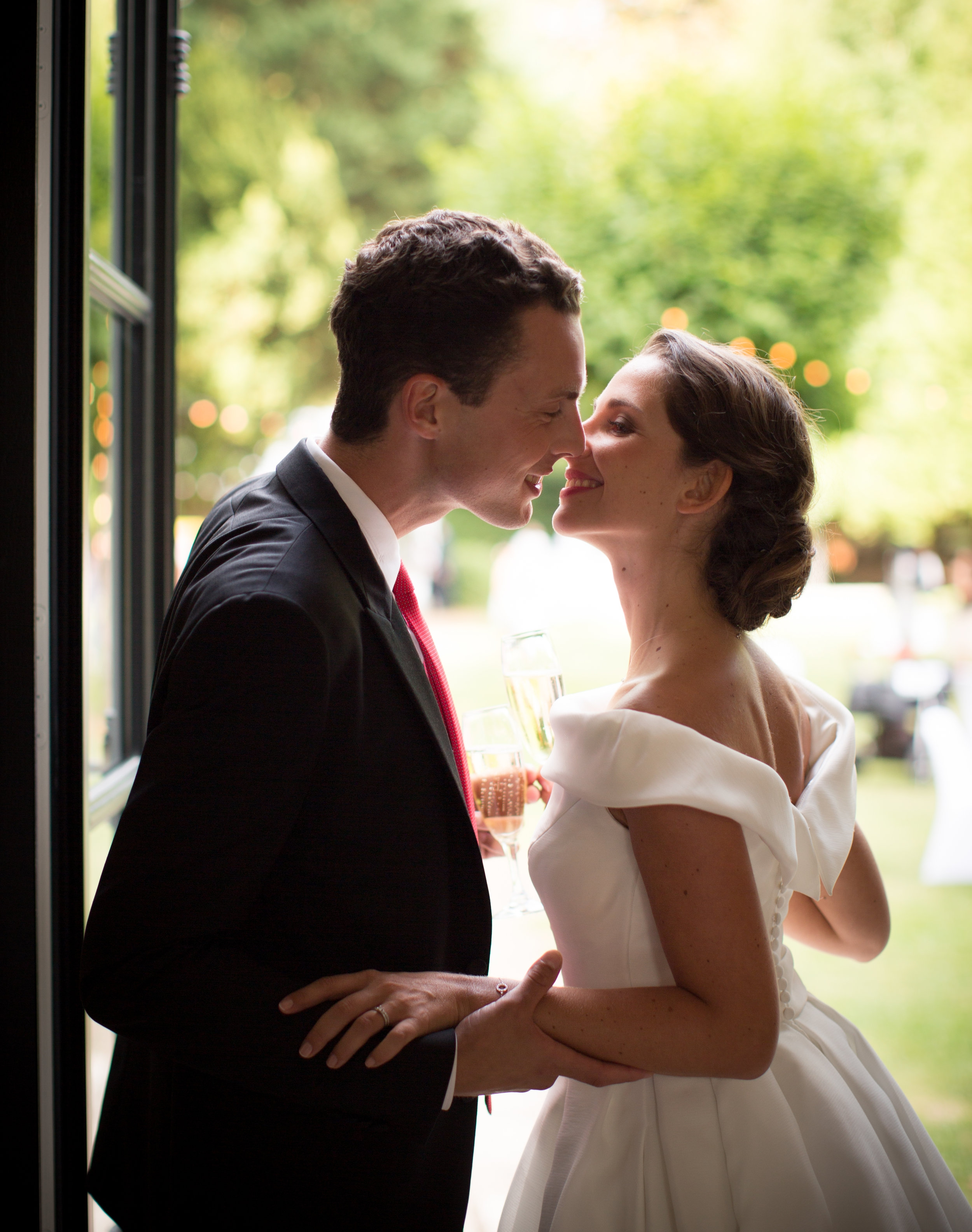 Mariage de Manon, coiffure et maquillage by The reporthair