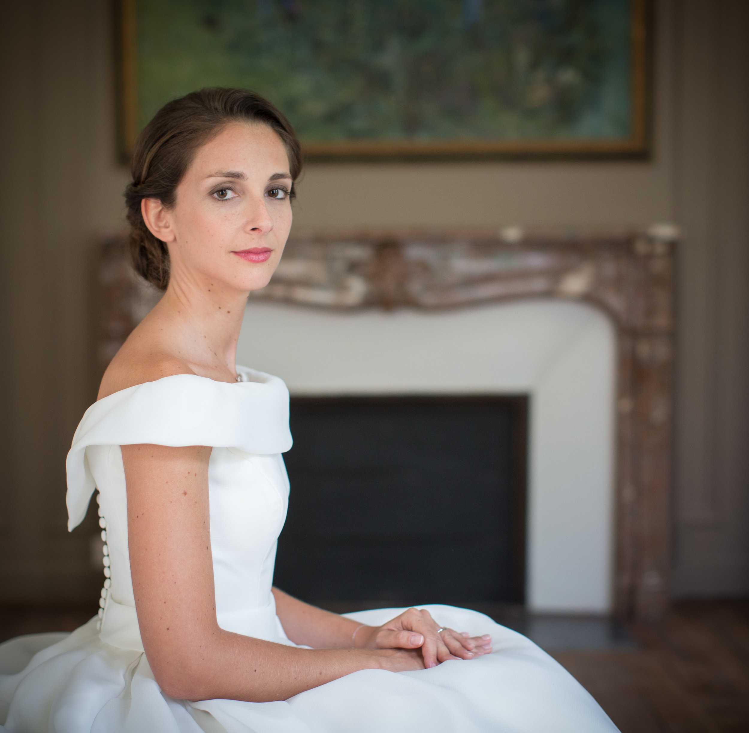 Mariage de Manon, coiffure et maquillage by The reporthair - 1