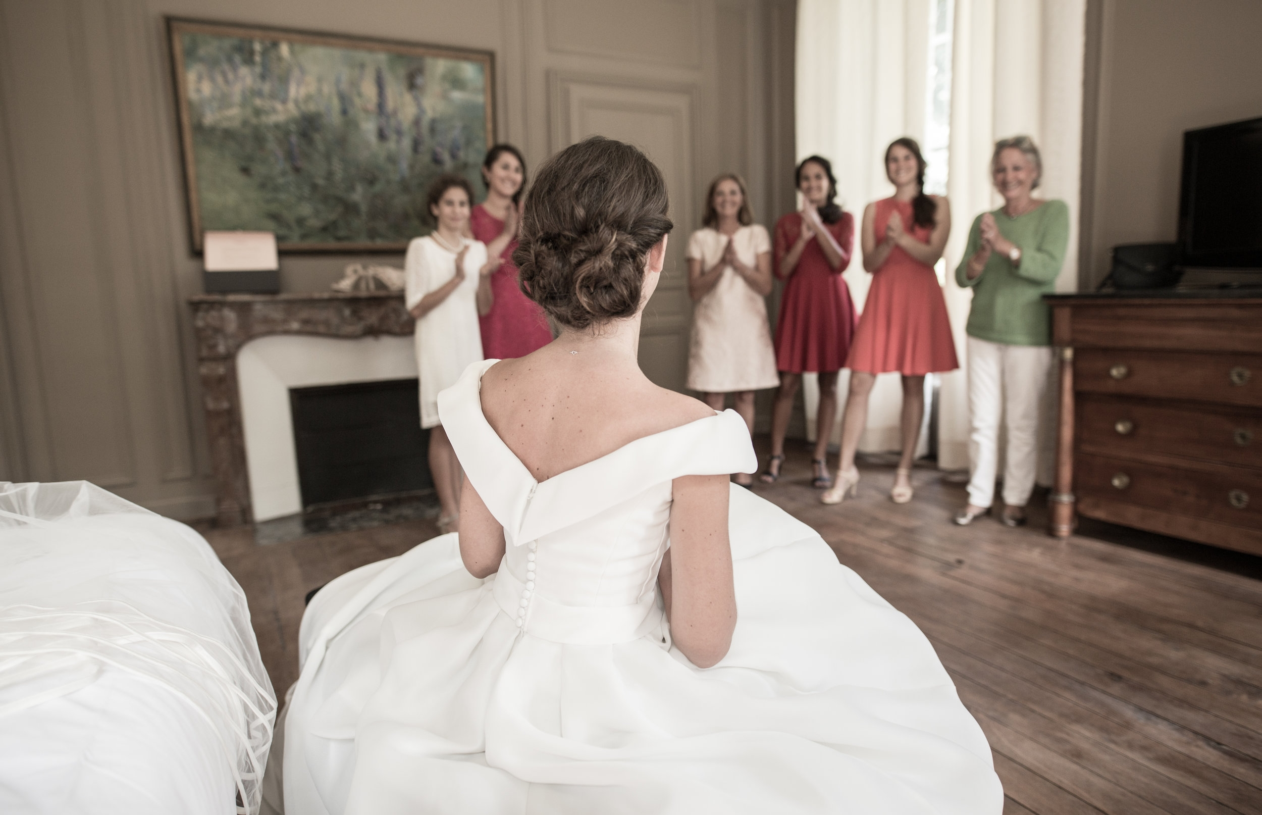 Mariage de Manon, coiffure et maquillage by The reporthair - 2