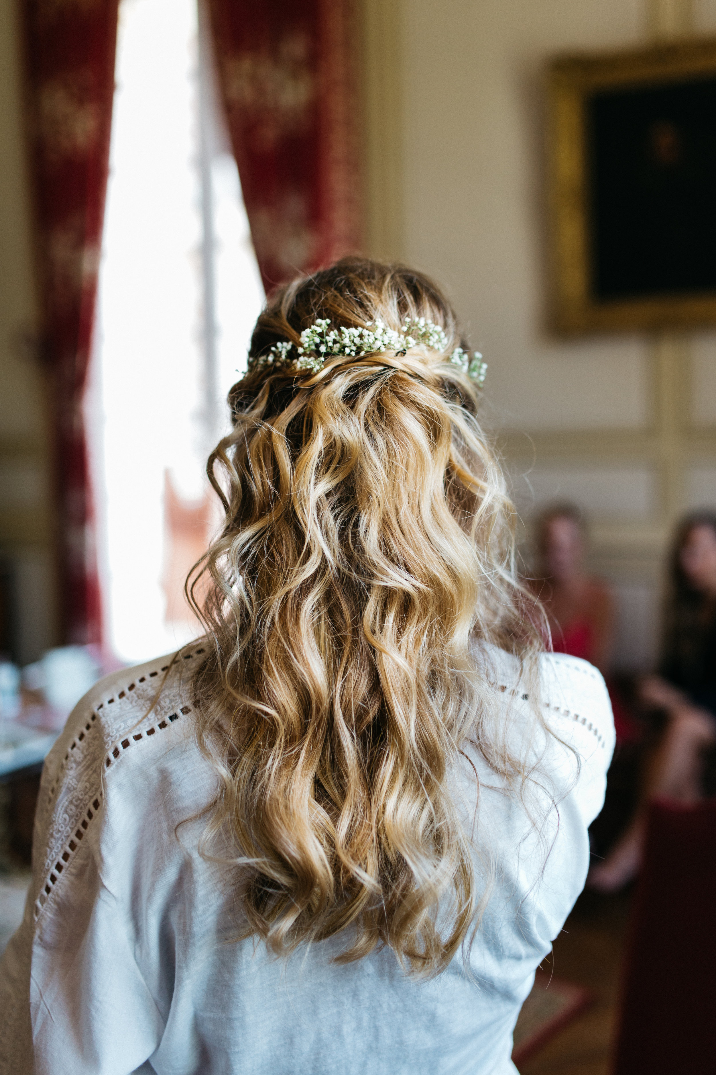 Mariage de Dana, coiffure et maquillage by The reporthair