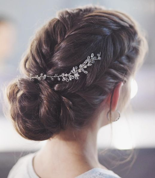 braided updo, wedding hair, hair braids