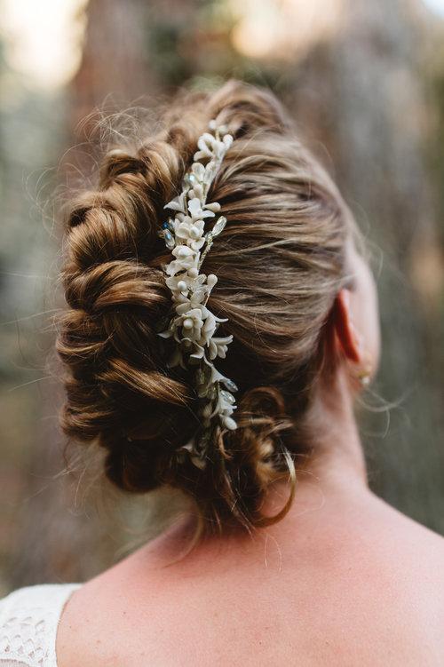 coiffure tresse, natte africaine, coiffure mariage