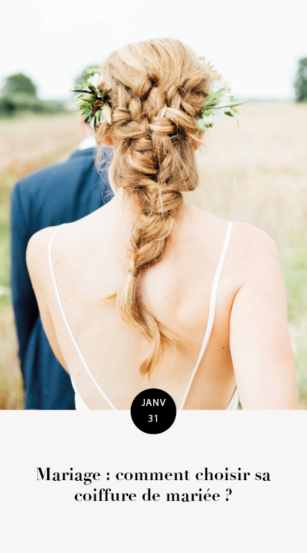 choisir sa coiffure de mariage