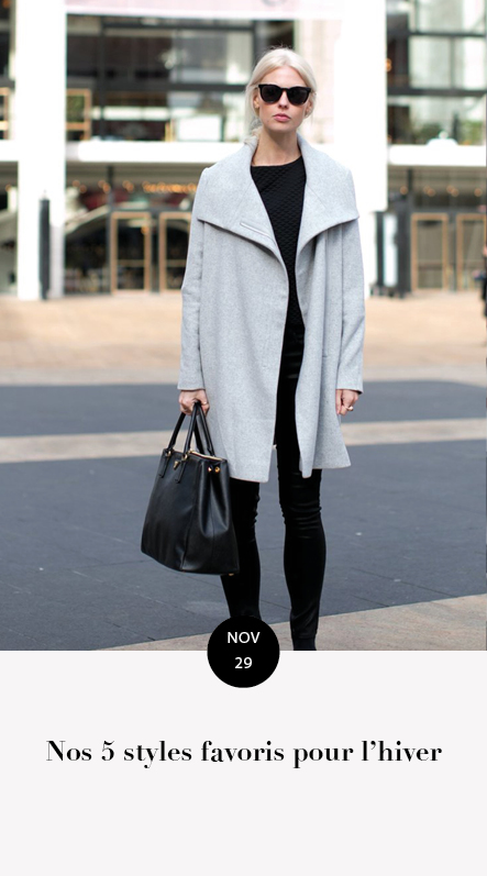 styles hiver