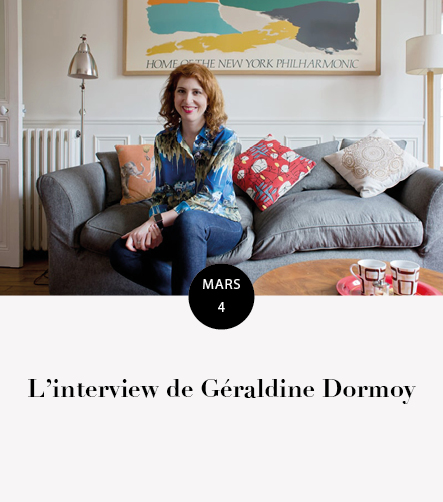 Interview Géraldine Dormoy