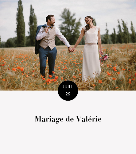 Mariage Valerie