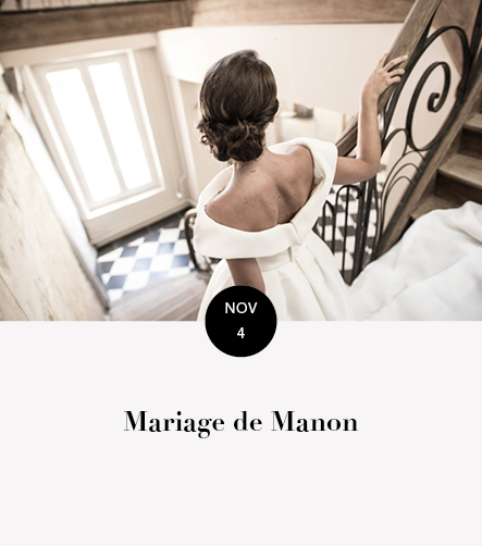 Mariage Manon