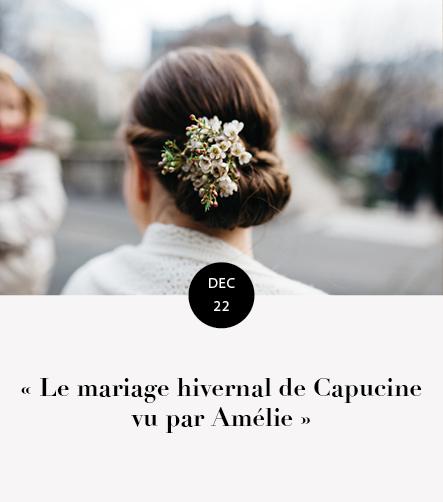 mariage capucine