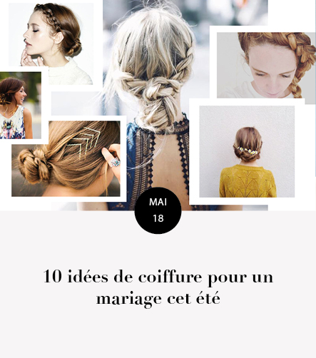 coiffure mariage été