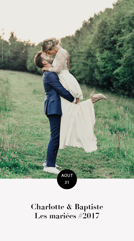 mariage charlotte