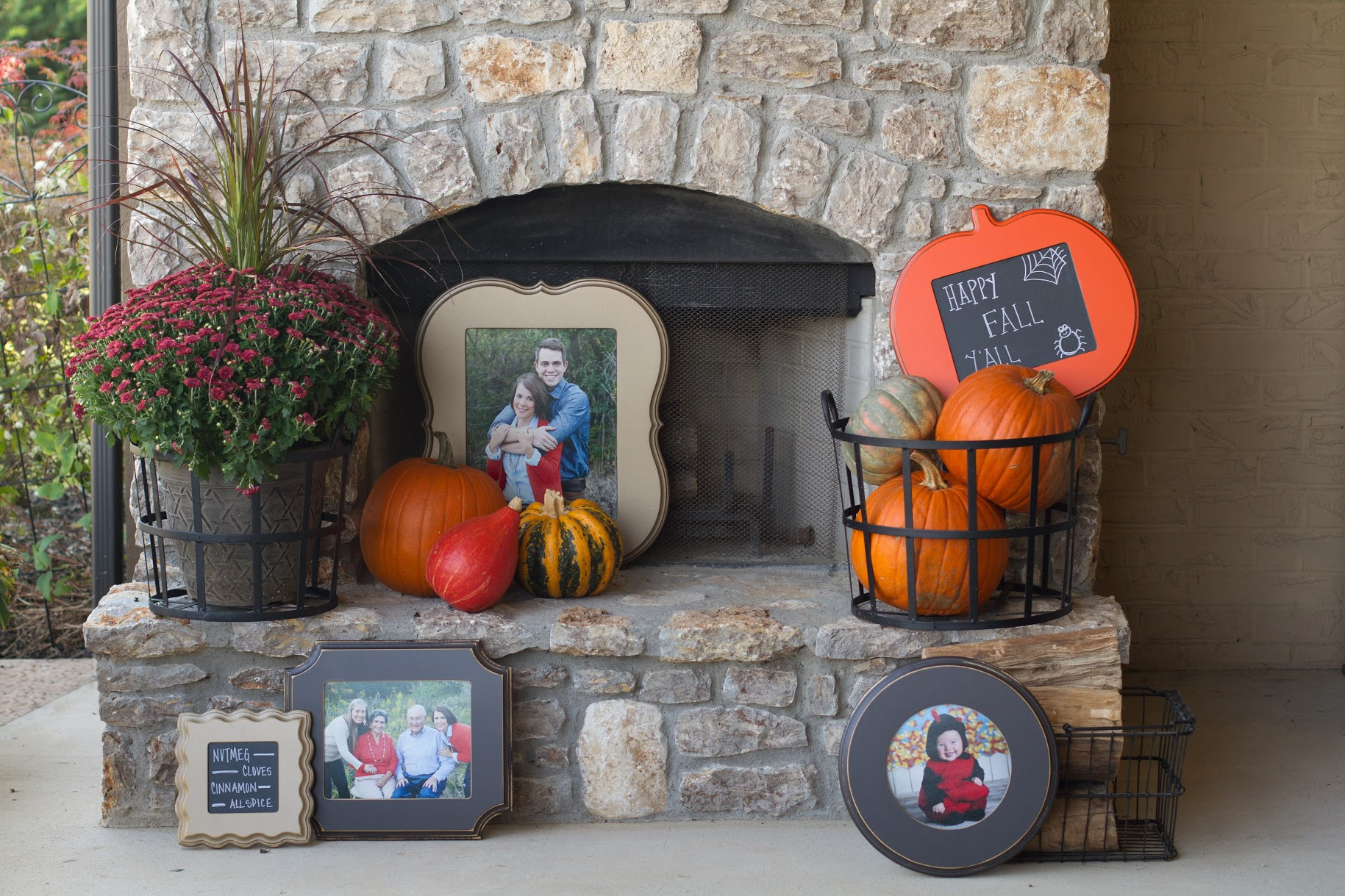 Fall decor at it's finest!