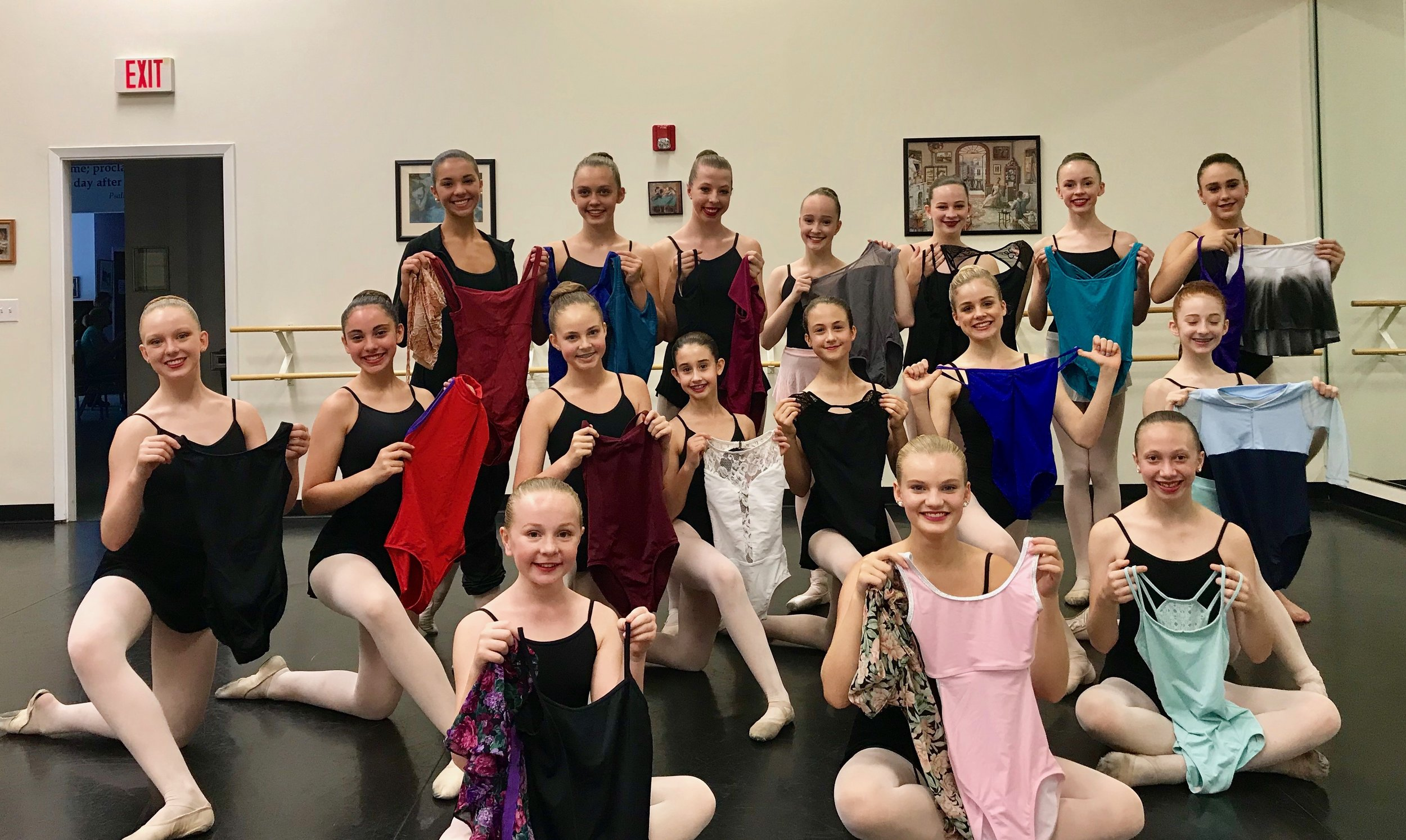 Leotard donations for Dance Chance