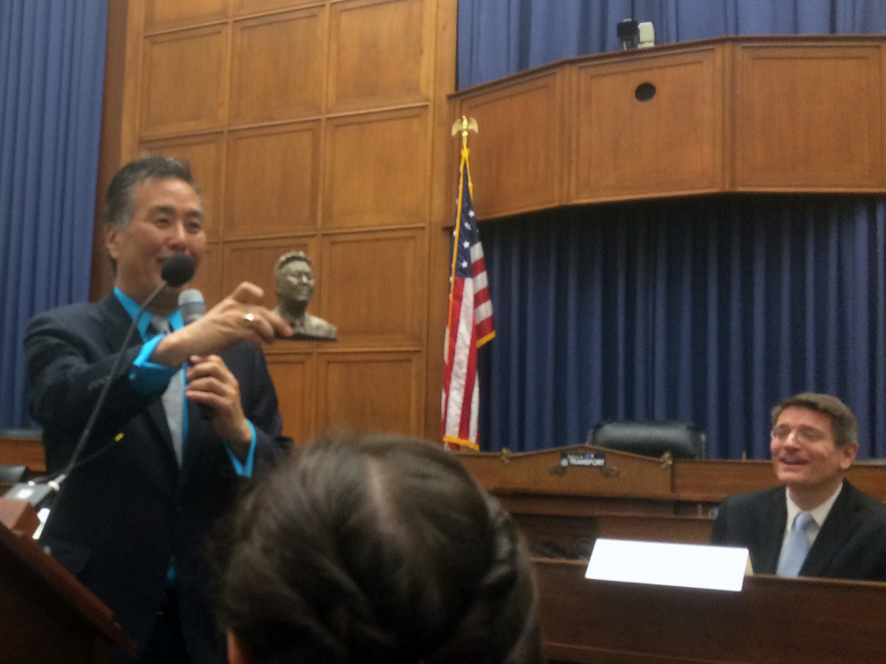 Congressman Mark Takano was 3D scan and 3D printed by Davide Prete