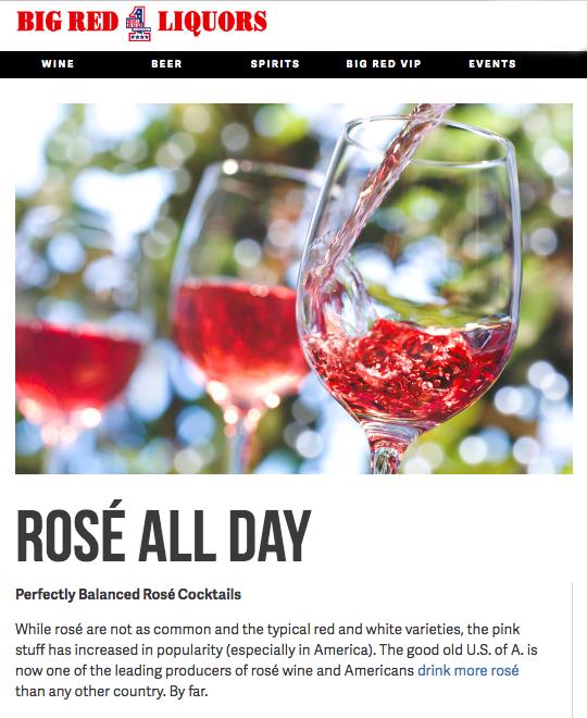 Blog for Big Red Liquors