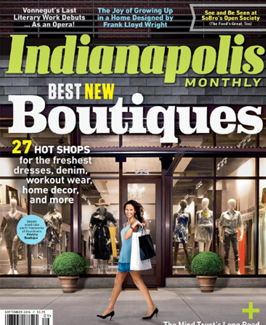 Article for Indy Monthly (September 2016 Issue)
