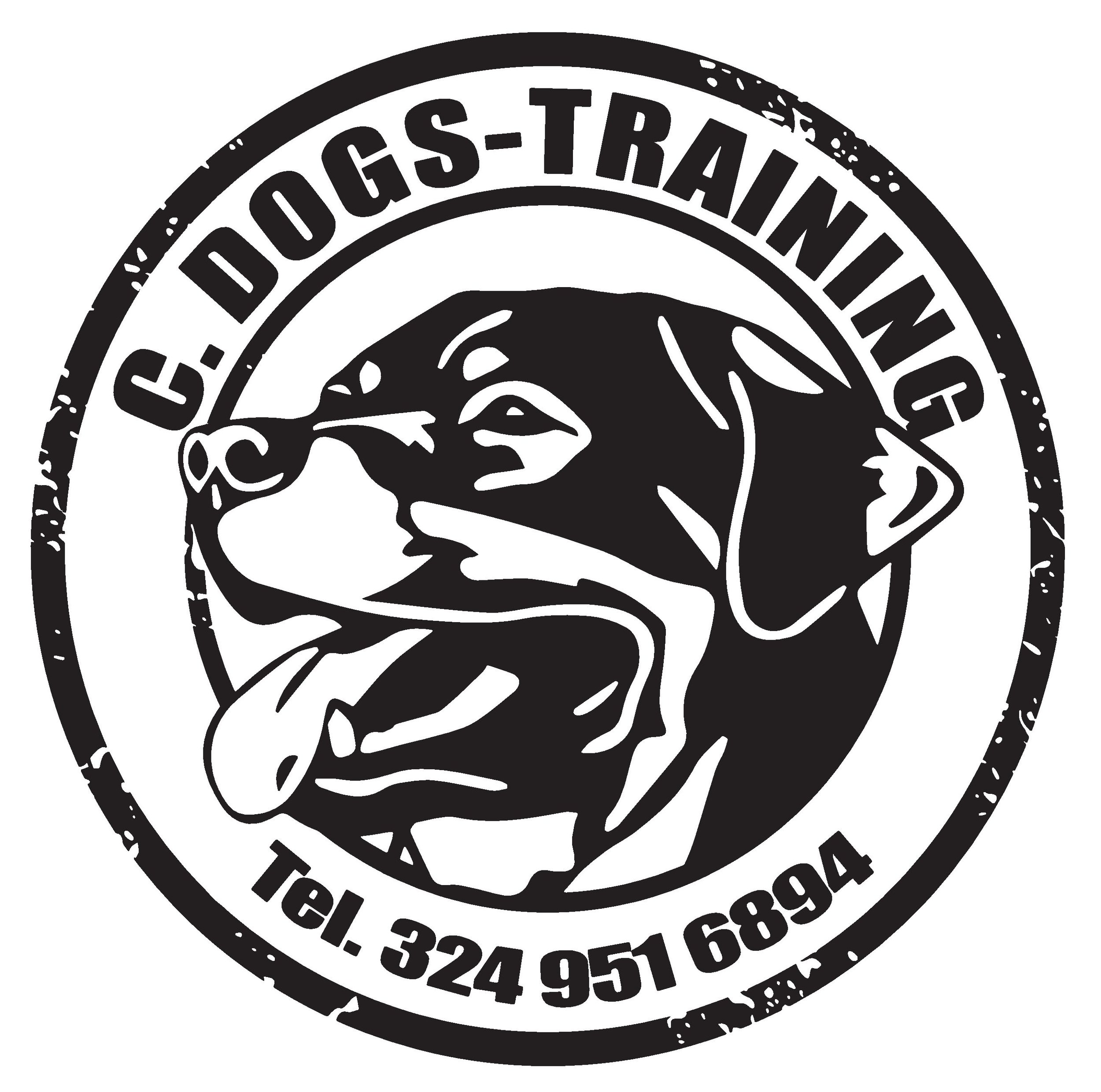 c. dogs training