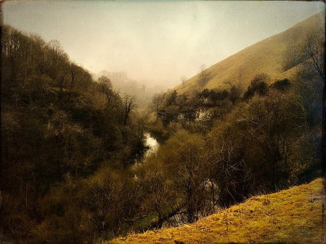 Peak District #hipstamatic #landscape #river #valley