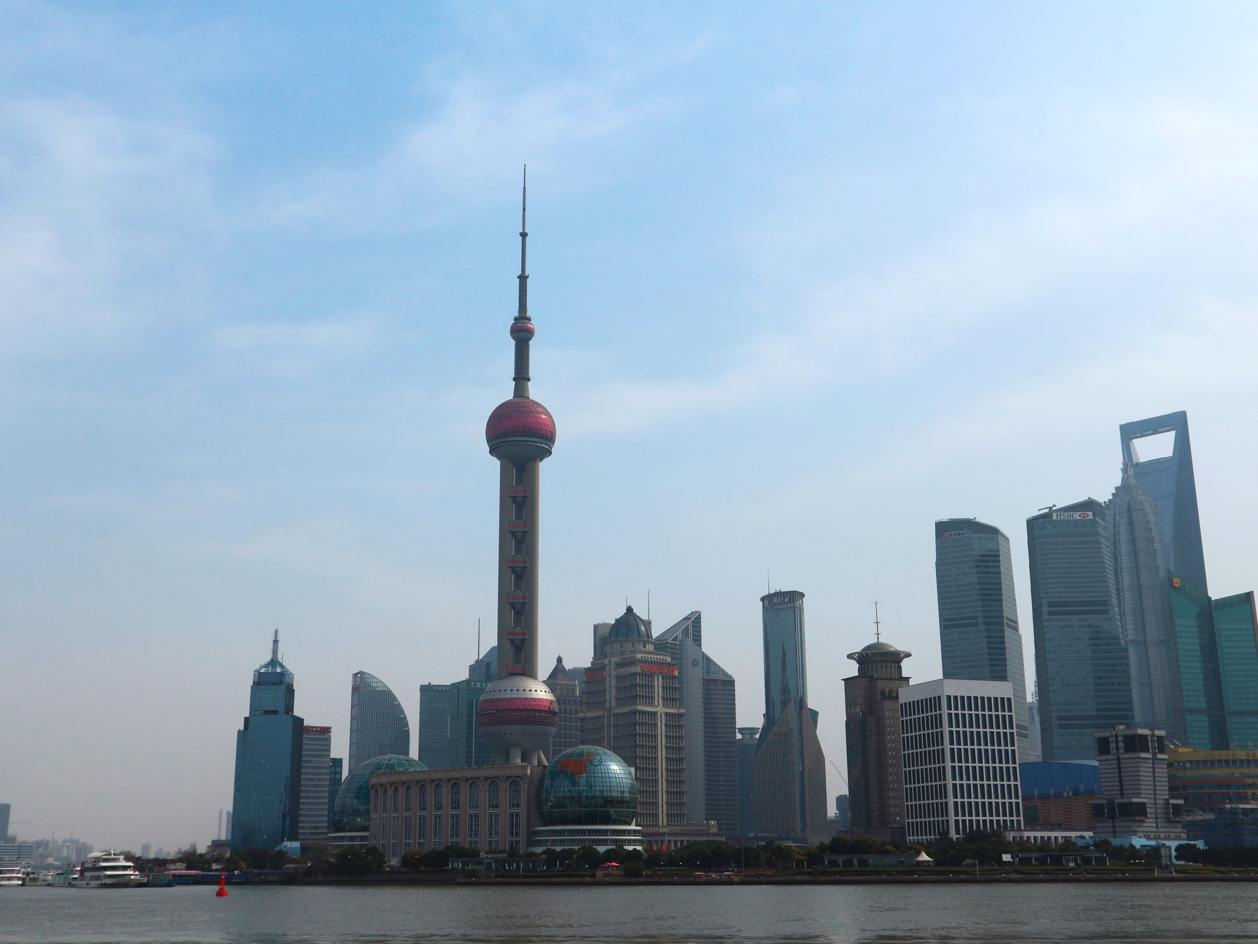 Daytime view from The Bund