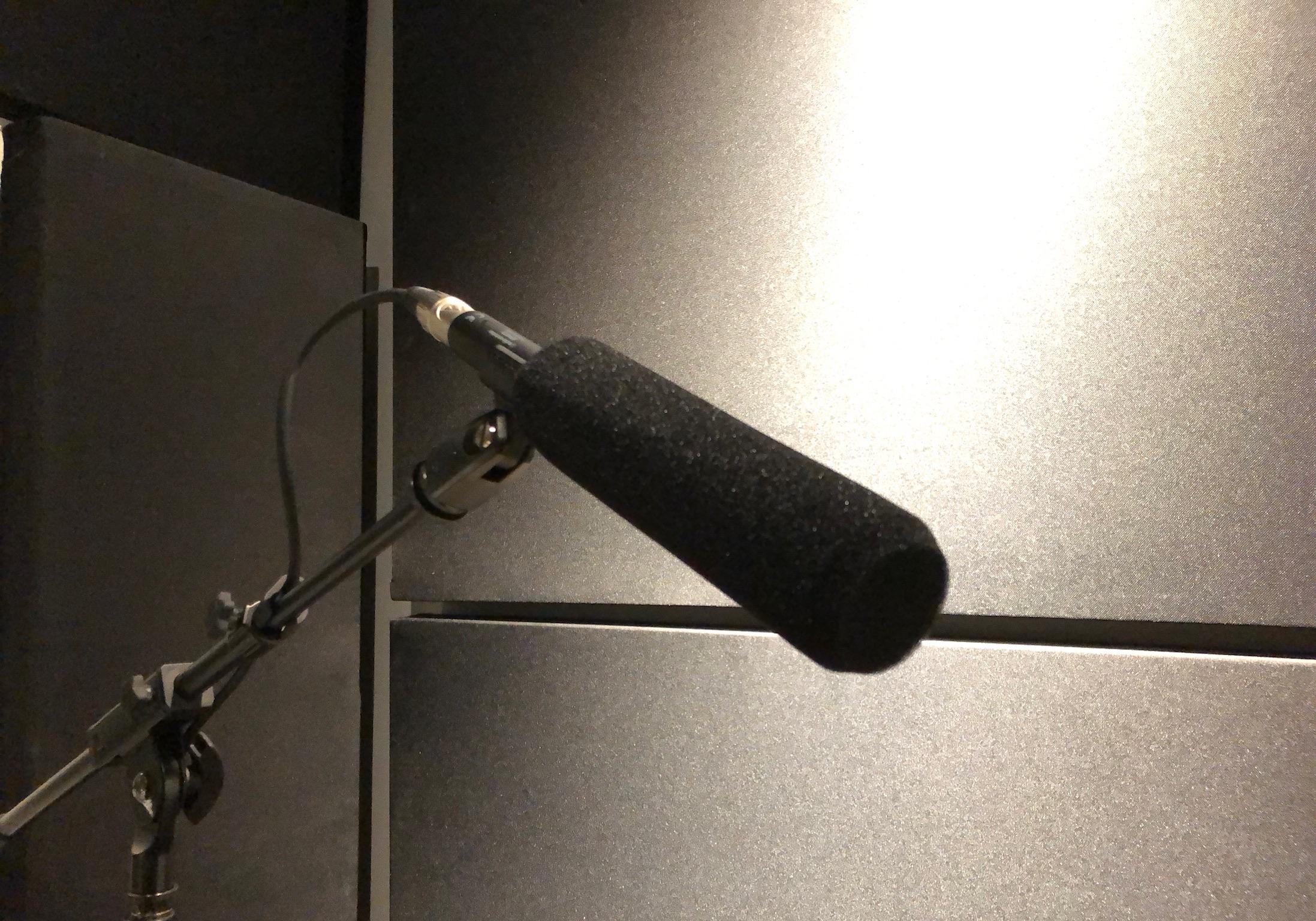 Audio-Technica BP4073 shotgun microphone