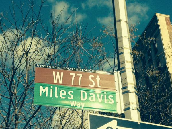 Miles Davis Way Street Sign