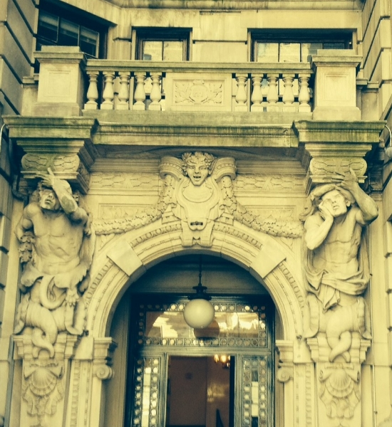 Details from the Front Entrance
