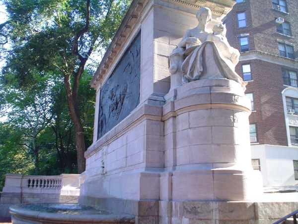Firemen's Monument on Riverside Drive and 100th Street