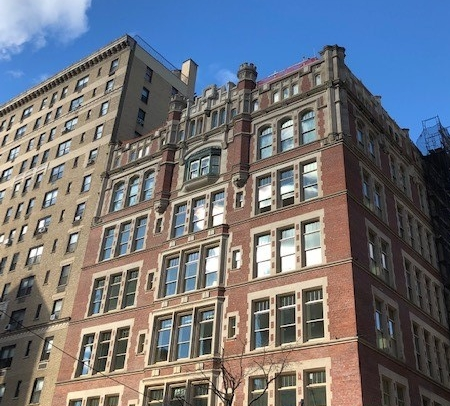 555 West End Avenue as it looks today