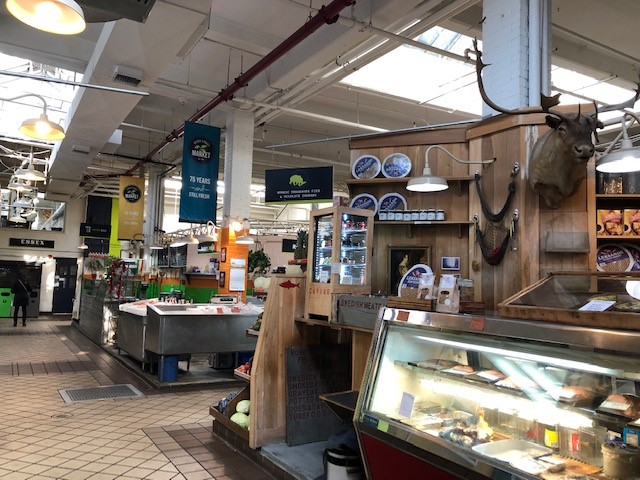 Inside Essex Street Market
