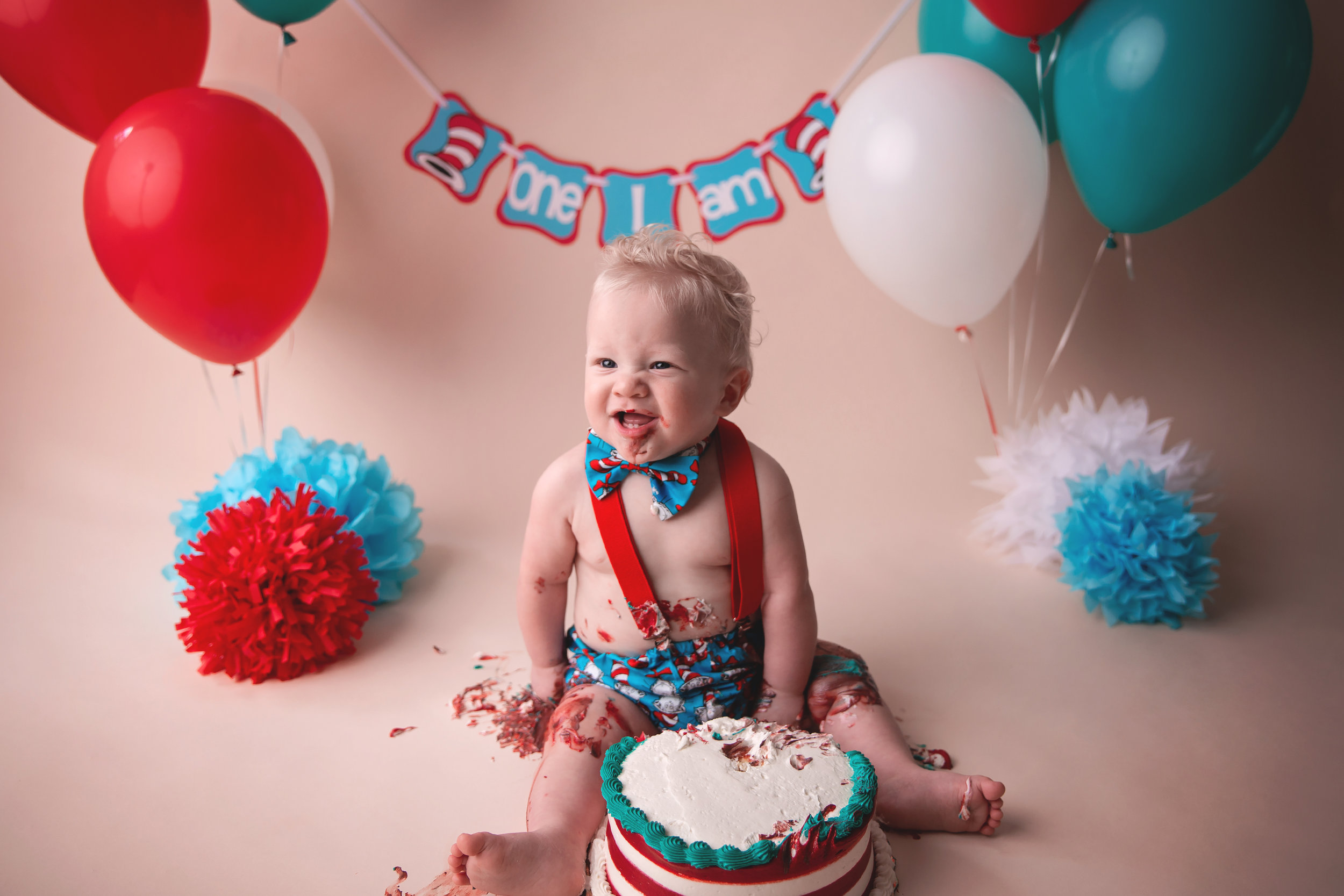 Sometimes we gotta get messy to have a little fun! - Having the honor of watching your little one grow is not something we take lightly. It's a privilege to capture these precious milestones as your sweet baby gets bigger and bigger becoming the unique tiny human they were made to be.
