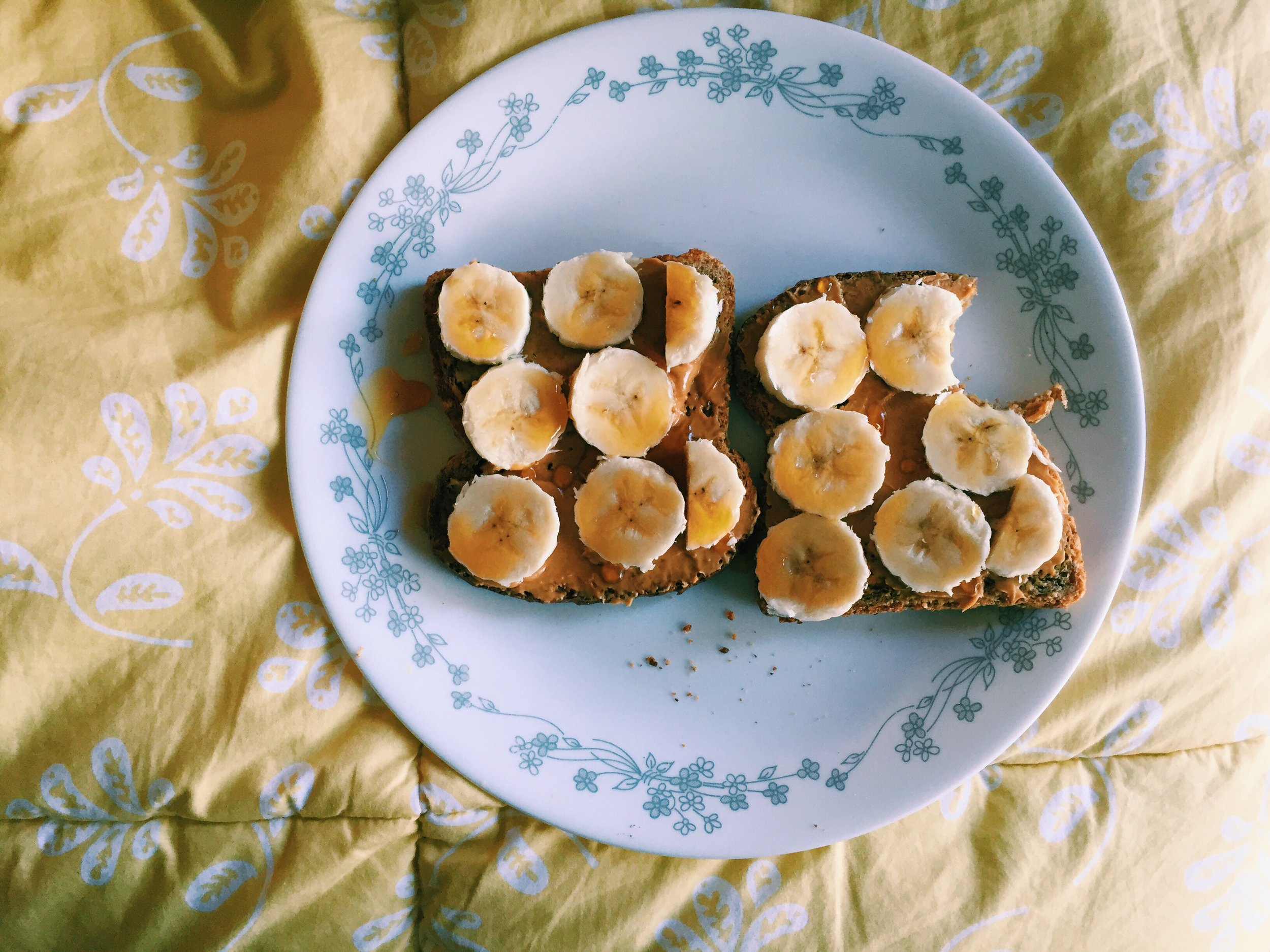 shoutout peanut butter banana toast for never letting me down ever