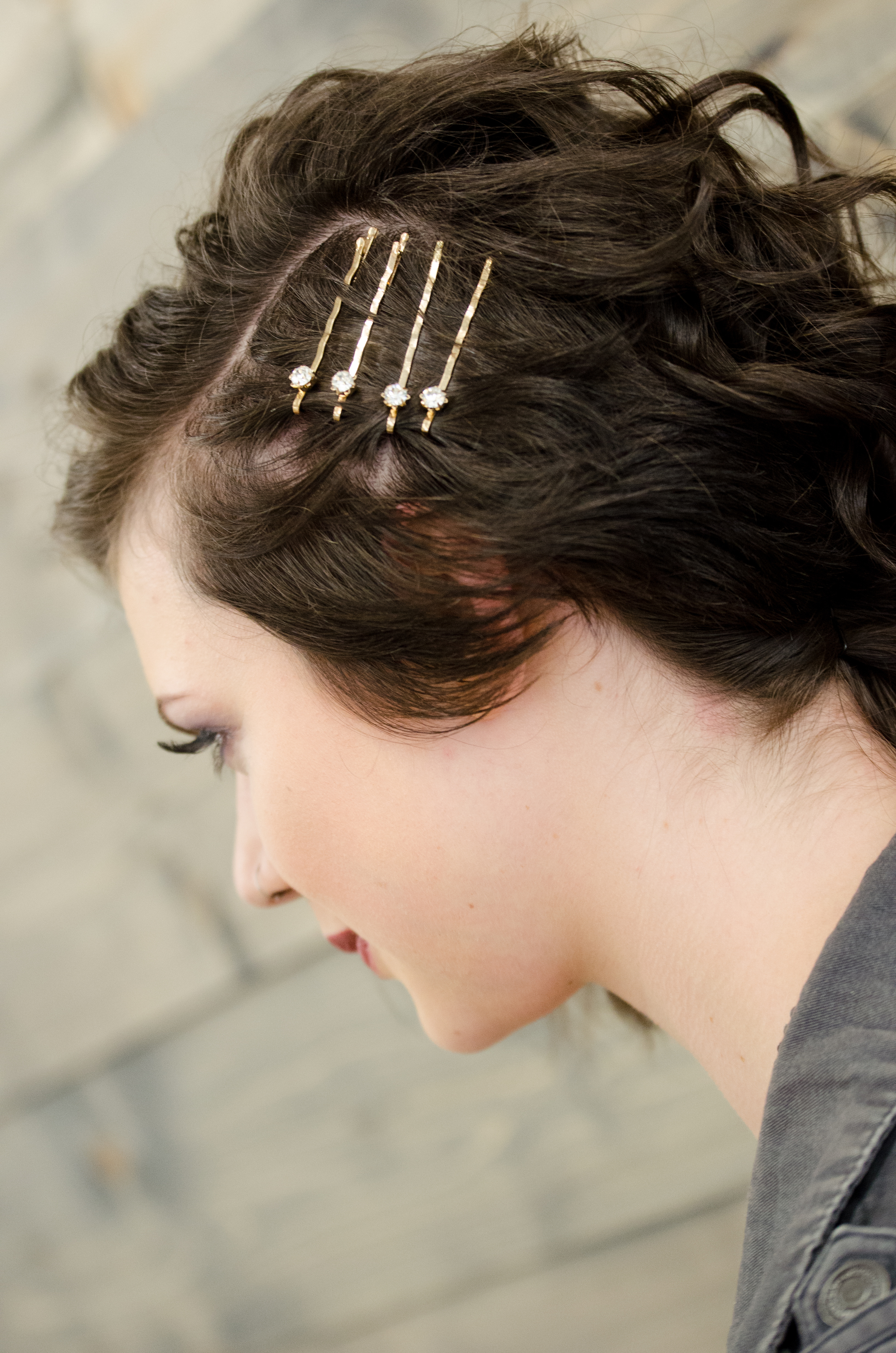 Short Hair Pins