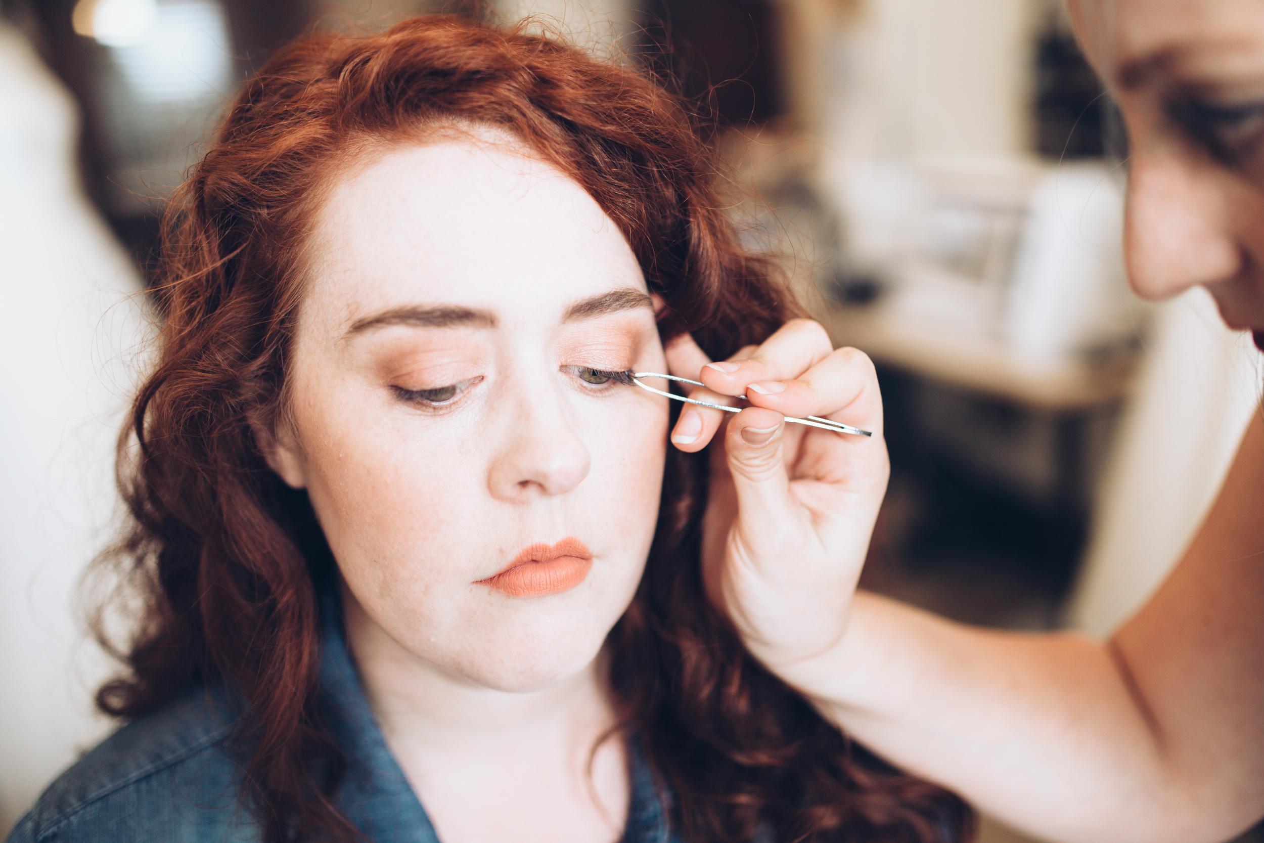 Individual Lashes Makeup Tutorial