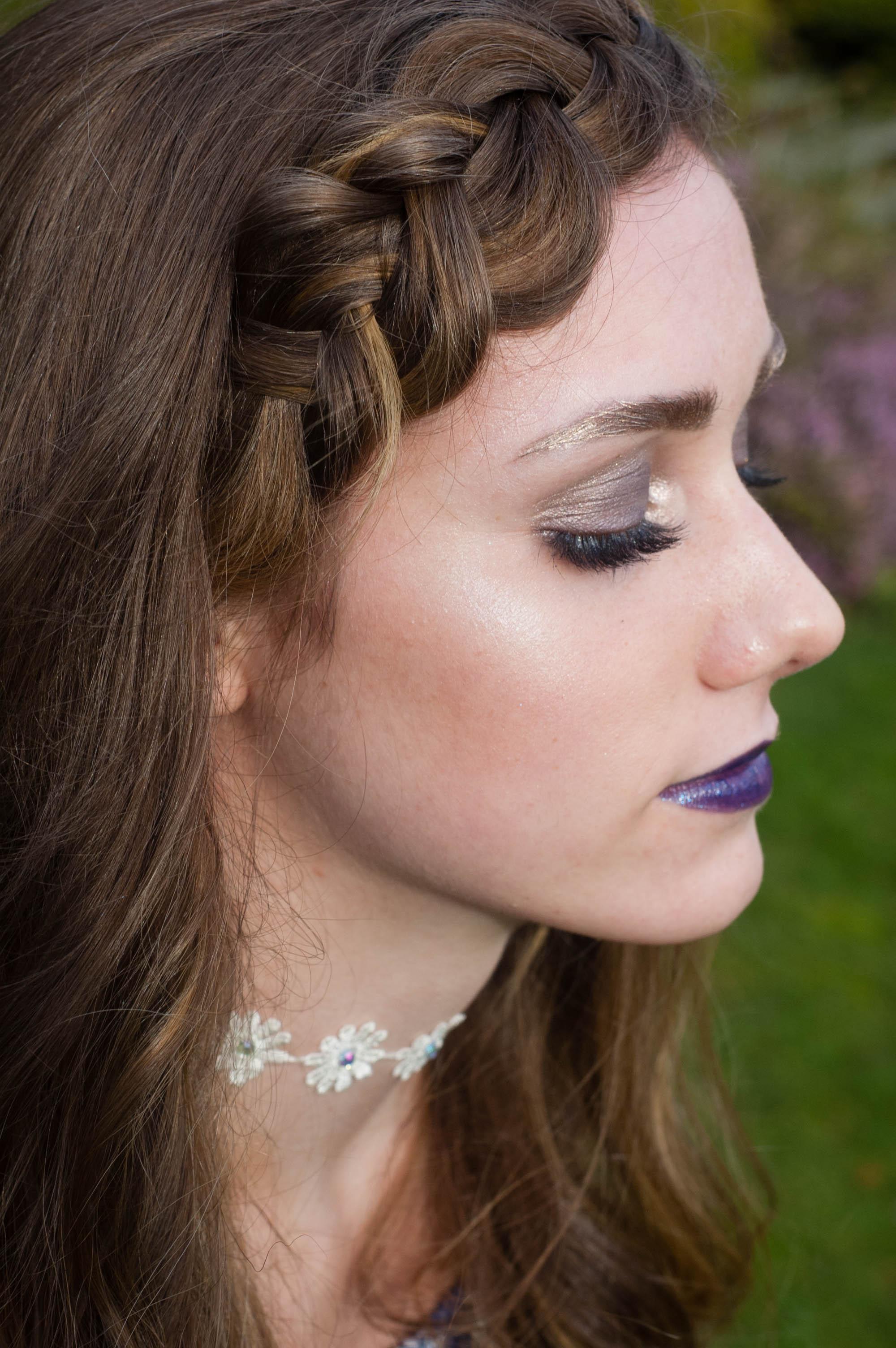 Gold Brows Makeup Tutorial