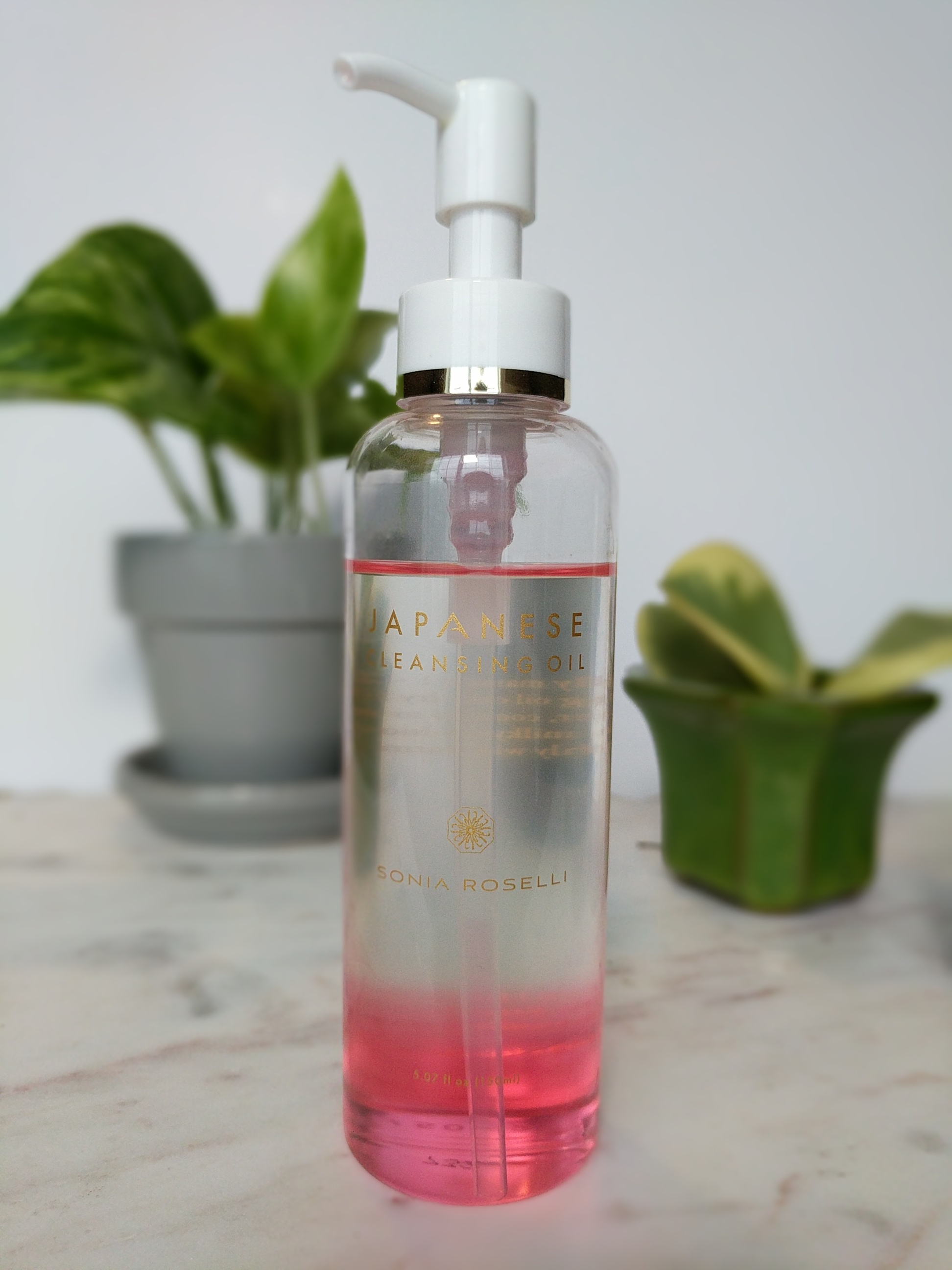 Cleanse - Another bit Sonia Roselli brilliance and my introduction into the world of facial oils! I use a few pumps into my hands and apply to my dry skin, rub it around and rinse off with warm water.