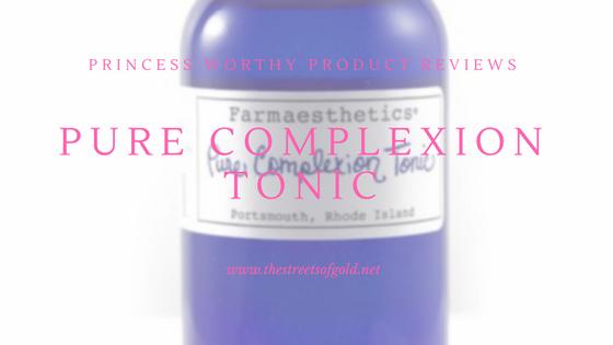Farmaesthetics Pure Complexion Tonic Review